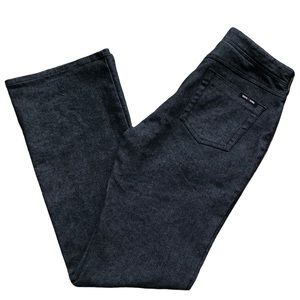 Roots R Registered High Rise Bootcut Grey Jeans, 8